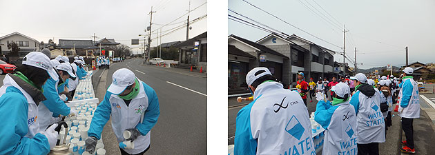 We Support Kyoto Marathon 2015